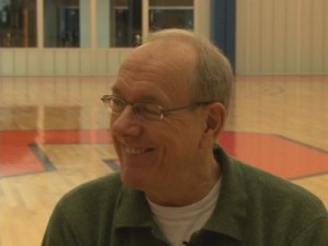 Syracuse Men's Basketball Coach, Jim Boeheim
